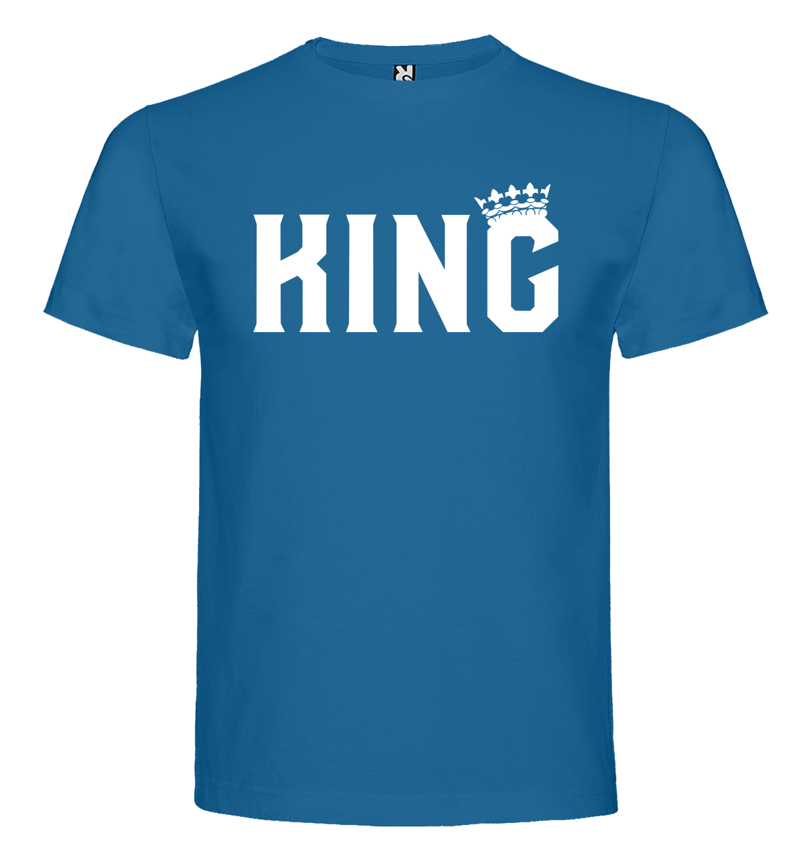 d4e6405be5f0 Pánské tričko KING s nápisem - BVTRIKO