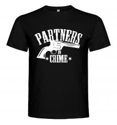 Pánské tričko PARTNERS IN CRIME