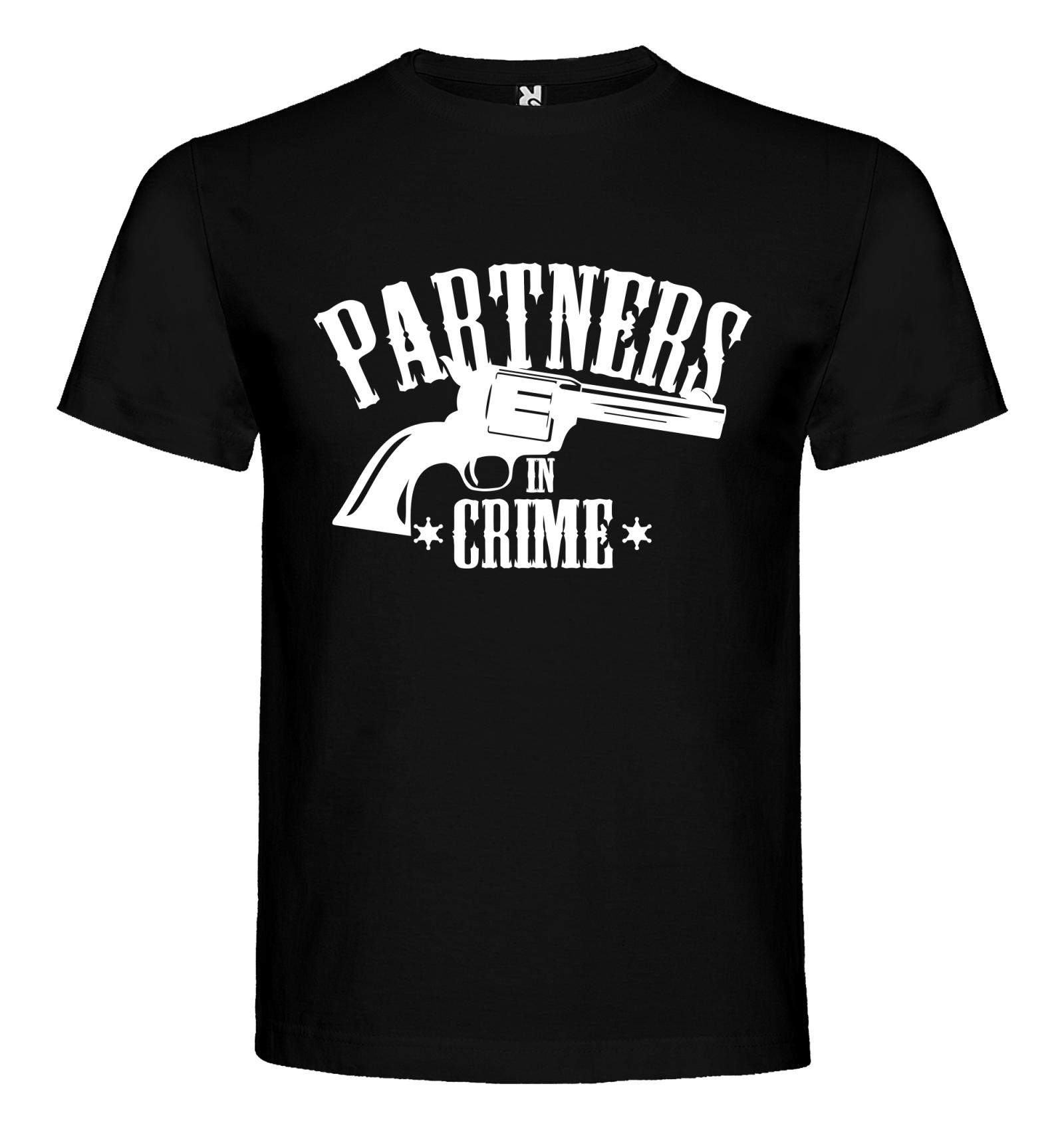 842ec5f79d0 Trička pro páry PARTNERS IN CRIME - BVTRIKO