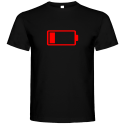 Pánské tričko Vybitá baterie