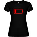 Dámské tričko Vybitá baterie