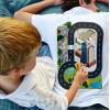 Pánské tričko s dráhou pro autíčka