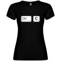 Dámské tričko pro rodinu CTRL+C (kopírovat)