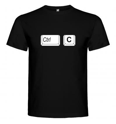 Pánské tričko CTRL+C (kopírovat)