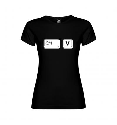 Dívčí tričko pro rodinu CTRL+V (vložit)