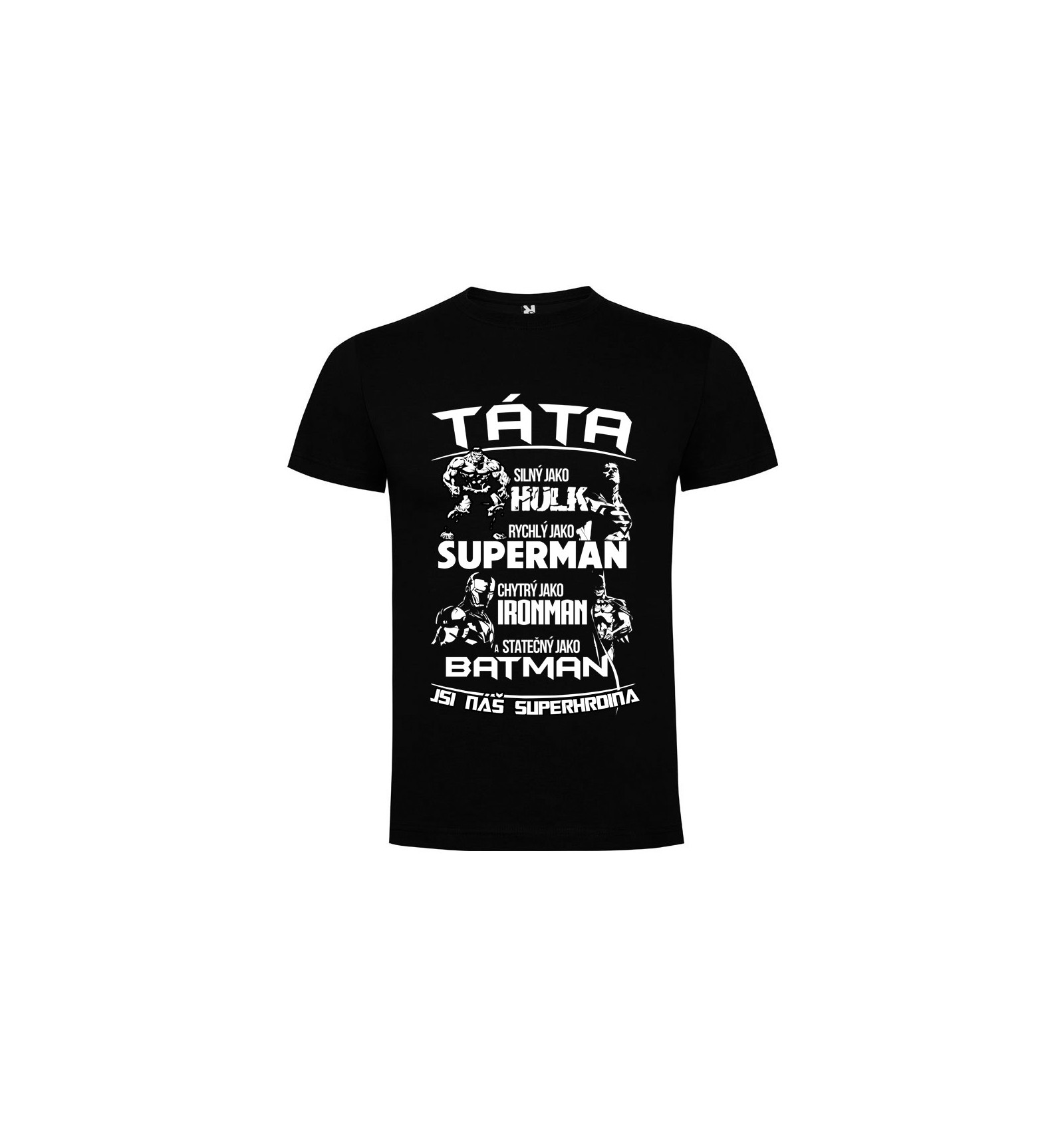 41c25b8fcd6 Pánské tričko TÁTA SUPERHRDINA - BVTRIKO