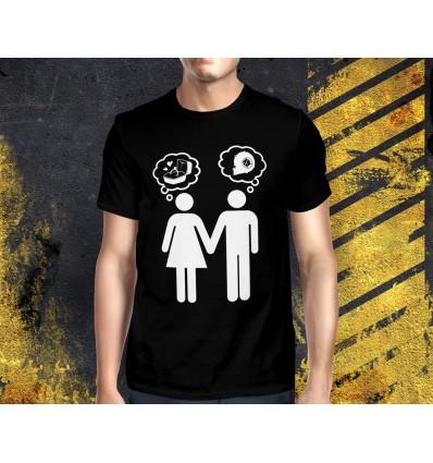 Pánské tričko s motivem Tuning TURBO