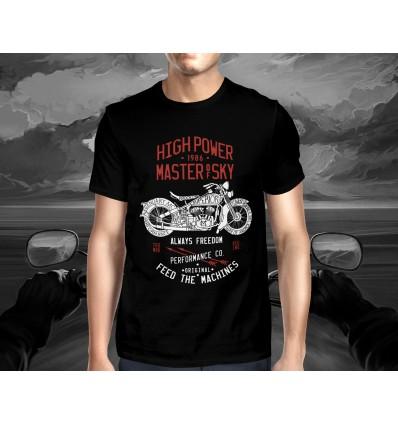 Pánské tričko pro motorkáře HIGH POWER 1986