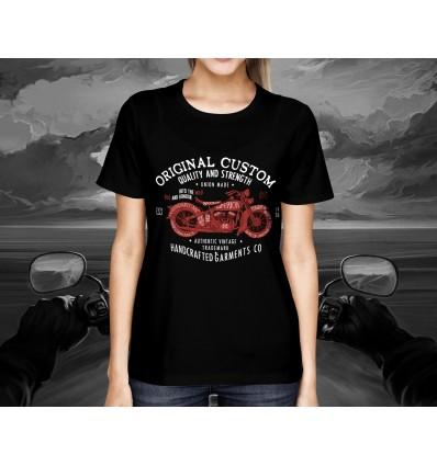 Dámské tričko pro motorkáře ORIGINAL CUSTOM