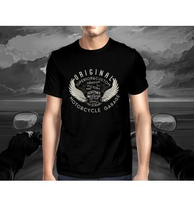 Pánské tričko pro motorkáře ORIGINAL MOTORCYCLE GARAGE