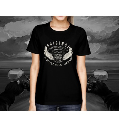Dámské tričko pro motorkáře  ORIGINAL MOTORCYCLE GARAGE