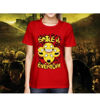 Dámské tričko ZOMBIE smile
