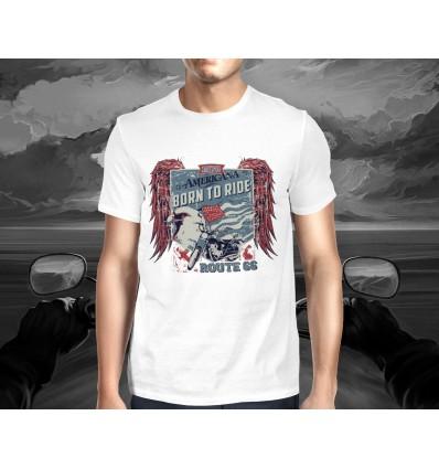 Pánské tričko pro motorkáře window maker