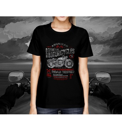 Dámské tričko pro motorkáře AMERICAN CUSTOM MOTORCYCLES