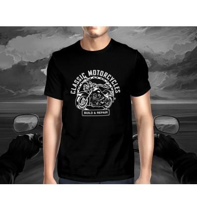 Pánské tričko pro motorkáře CLASSIC AMERICAN MOTORCYCLES B&R