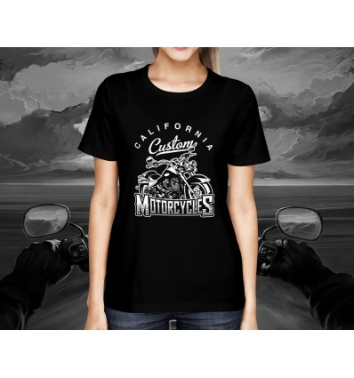 Dámské tričko pro motorkáře CLASSIC CALIFORNIA MOTORCYCLES