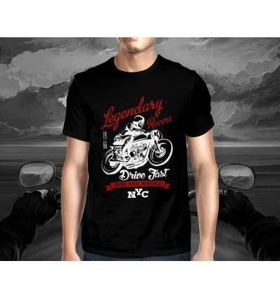 Pánské tričko pro motorkáře LEGENDARY RACE