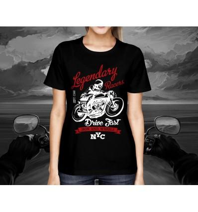 Dámské tričko pro motorkáře LEGENDARY RACE