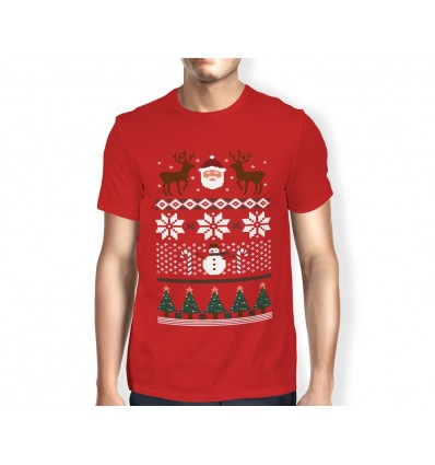 Pánské tričko s vánočním motivem