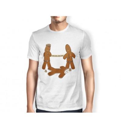 Pánské tričko s vánočním motivem Perníčci