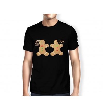 Tričko s vánočním motivem perníčci 2