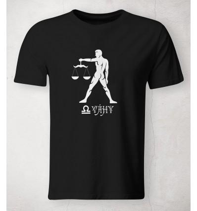 Pánské tričko znamení Váhy