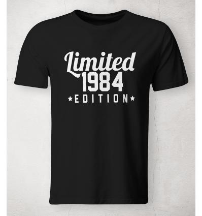 Pánské tričko Limited Edition (s vlastním datem)