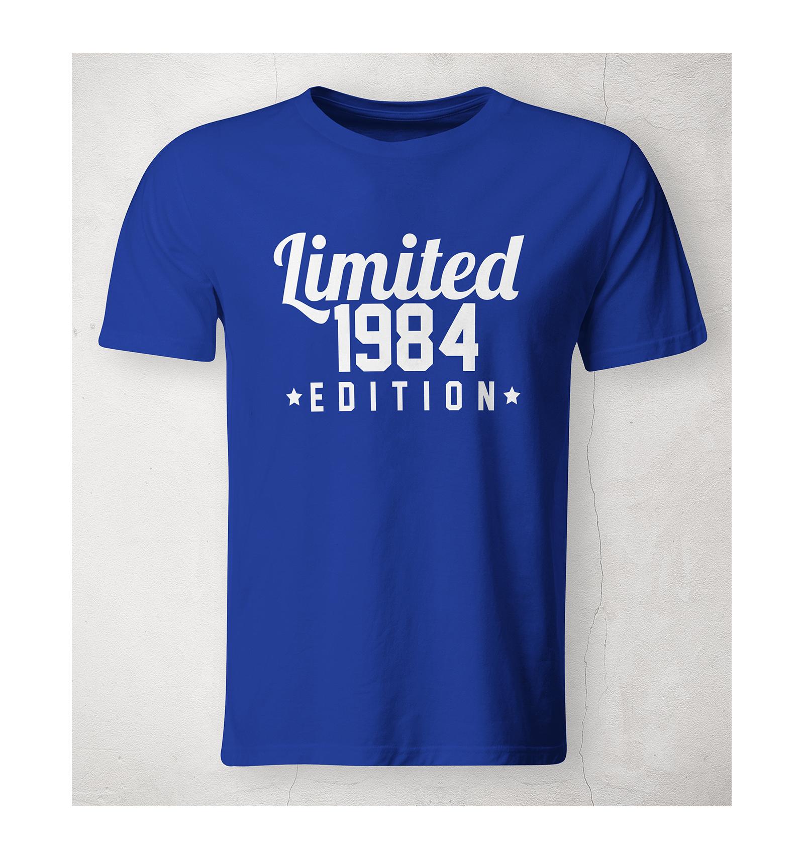 Pánské tričko Limited Edition (s vlastním datem) - BVTRIKO a0a5bec81e