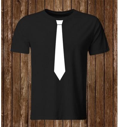 Pánské tričko s kravatou