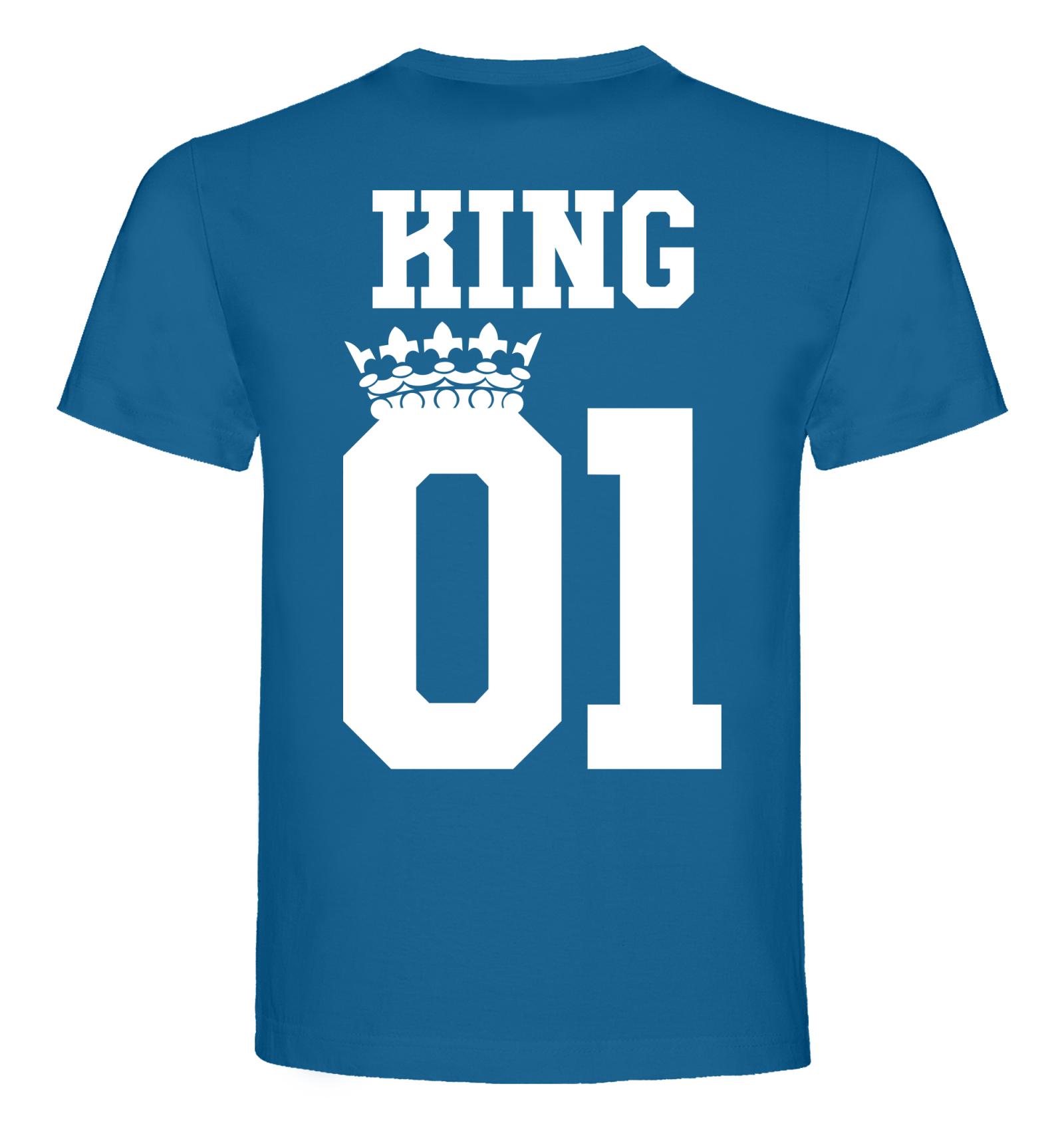 046e84d463b3 Pánské tričko KING 01 - BVTRIKO